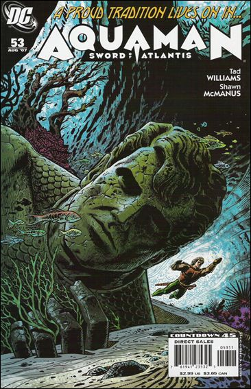 Aquaman: Sword of Atlantis 53-A by DC