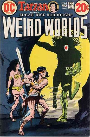 Weird Worlds (1972) 3-A by DC