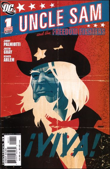 Uncle Sam and the Freedom Fighters (2007) 1-A by DC