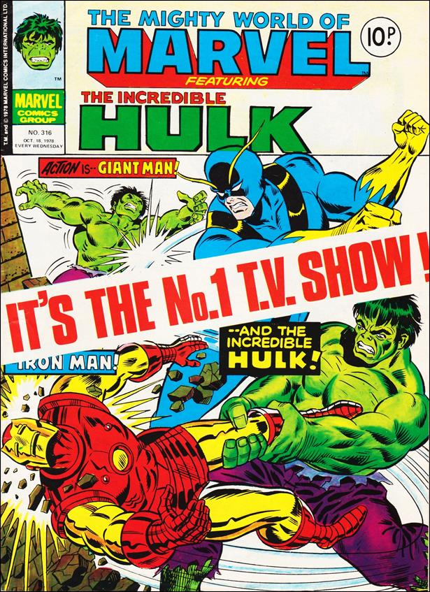 Mighty World of Marvel (UK) (1972) 316-A by Marvel UK