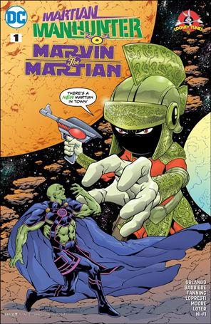 Martian Manhunter/Marvin the Martian Special 1-A