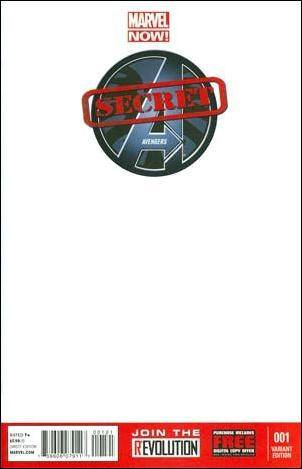 Secret Avengers (2013) 1-F by Marvel