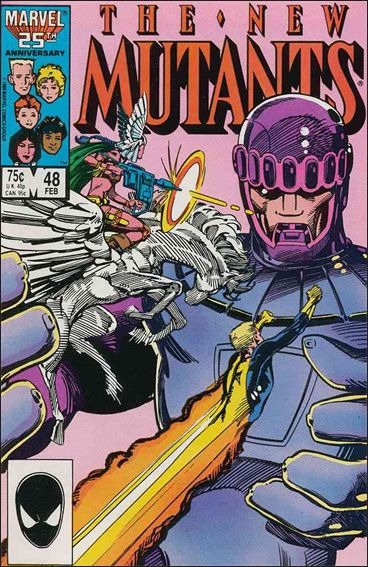 New Mutants (1983) 48-A by Marvel