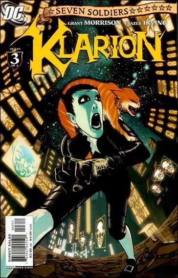 Seven Soldiers: Klarion the Witch Boy 3-A by DC
