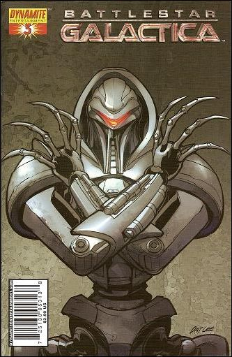 Battlestar Galactica (2006) 3-B by Dynamite Entertainment