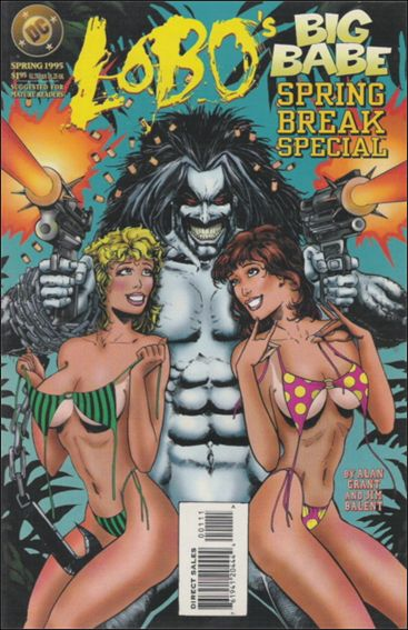 Lobo's Big Babe Spring Break Special 1-A by DC