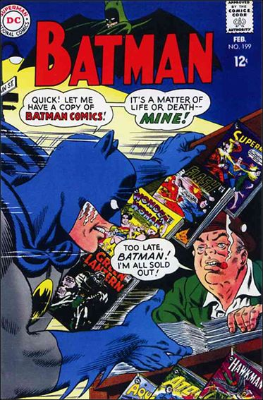 Batman (1940) 199-A by DC