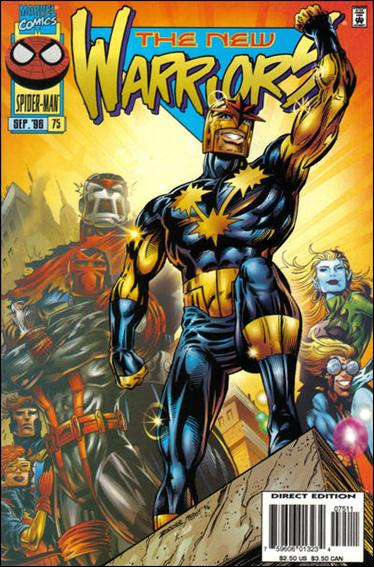 New Warriors (1990) 75-A by Marvel