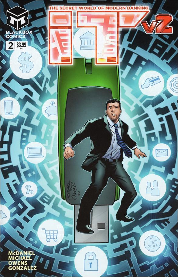 I.T. - The Secret World of Modern Banking (2017/09) 2-A by Blackbox Comics