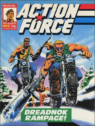 Action Force (UK) 5-A by Marvel UK