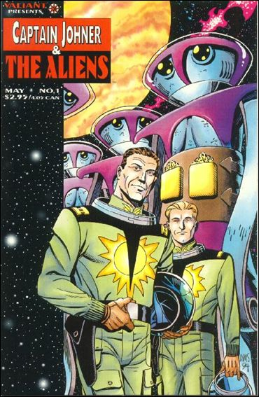 Captain Johner & The Aliens 1-A by Valiant