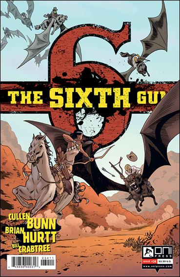 Sixth Gun 34-A by Oni Press