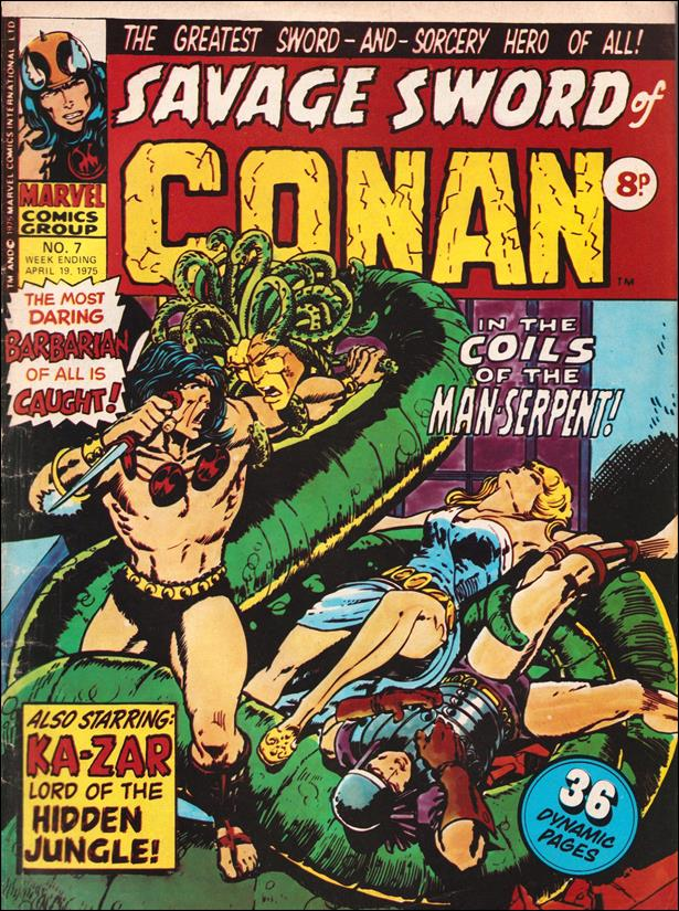 Savage Sword of Conan (UK) (1975) 7-A by Marvel UK