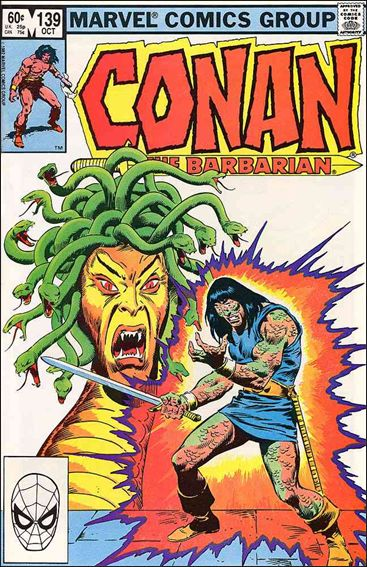 Conan the Barbarian (1970) 139-A by Marvel