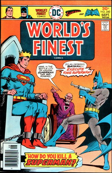 World's Finest Comics 240-A by DC