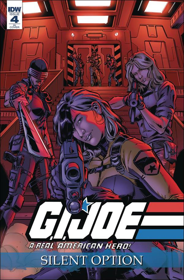 G.I. Joe: A Real American Hero: Silent Option 4-C by IDW