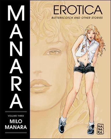 Manara Erotica 3-A by Dark Horse