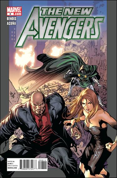 New Avengers (2010) 8-A by Marvel