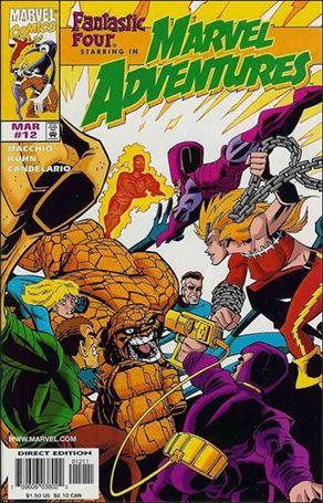 Marvel Adventures 12-A