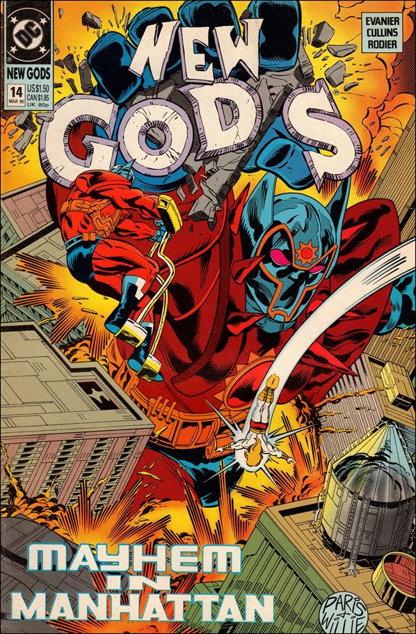 New Gods (1989) 14-A by DC