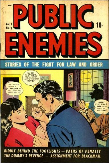 Public Enemies (1948) 9-A by D.S. Publishing