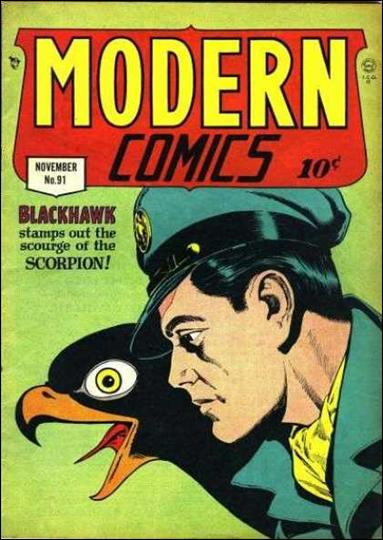 Modern Comics 91-A by Quality