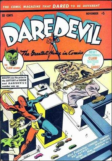 Daredevil (1941) 5-A by Lev Gleason Productions