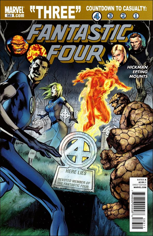 Fantastic Four (1961) 583-A by Marvel