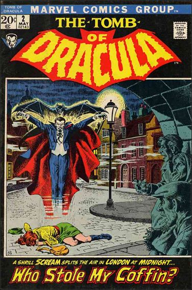 Tomb of Dracula (1972) 2-A by Marvel