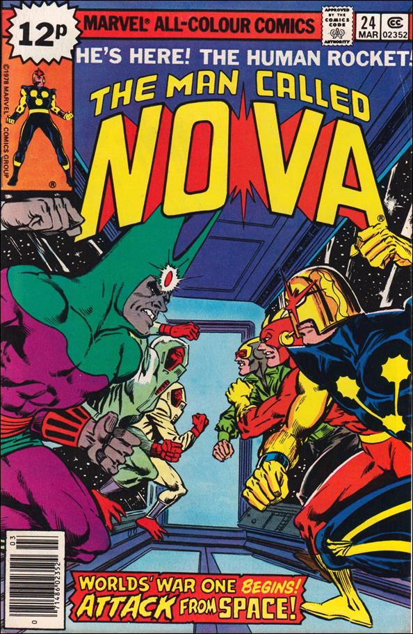 Nova (1976) 24-B by Marvel