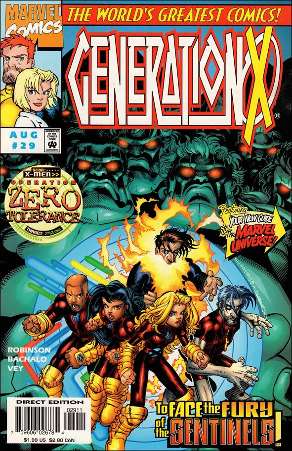 Generation X 29-A by Marvel