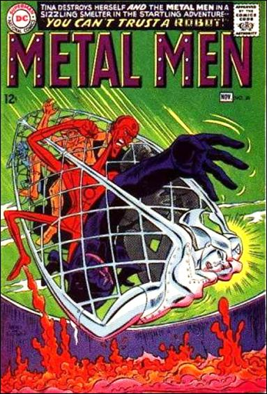 Metal Men (1963) 28-A by DC
