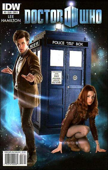 Doctor Who (2011) 3-B by IDW