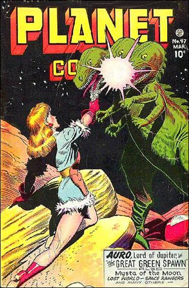 Planet Comics (1940) 47-A by Fiction House Magazines