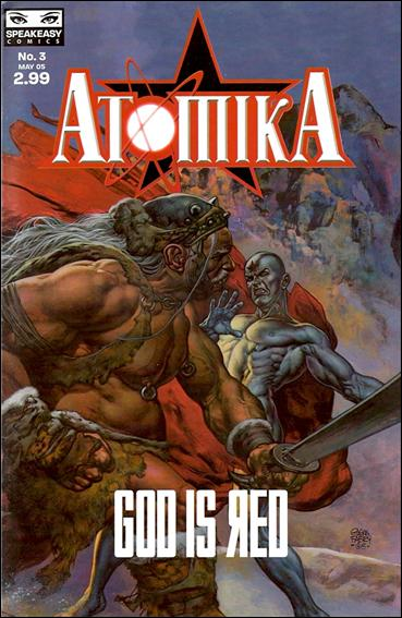 Atomika 3-A by Mercury Comics