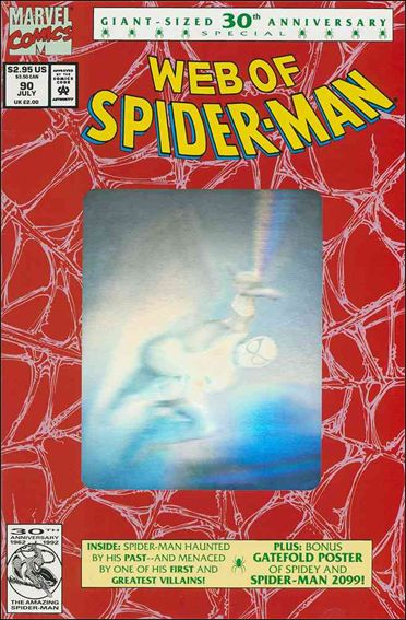 Web of Spider-Man (1985) 90-A by Marvel