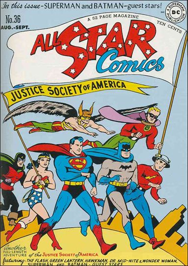 All Star Comics (1940) 36-A by DC