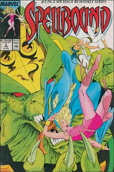 Spellbound (1988) 3-A by Marvel