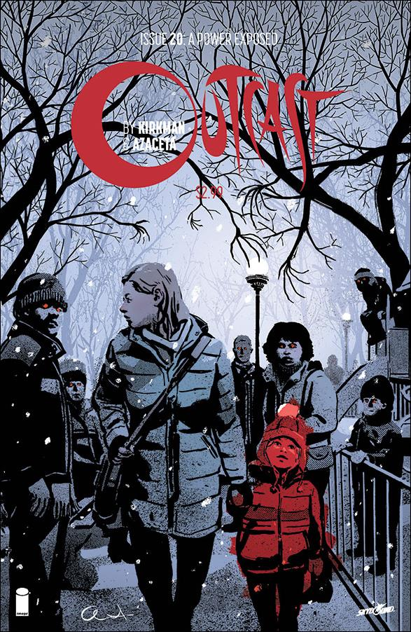 Outcast by Kirkman & Azaceta 20-A by Skybound Entertainment