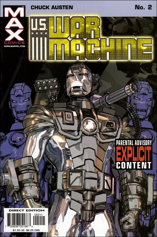 U.S. War Machine 2-A by Max