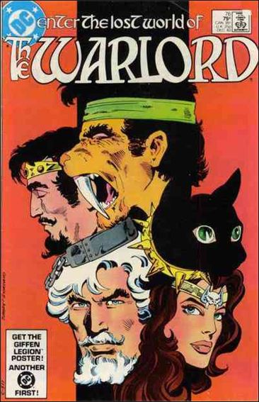 Warlord (1976) 76-A by DC