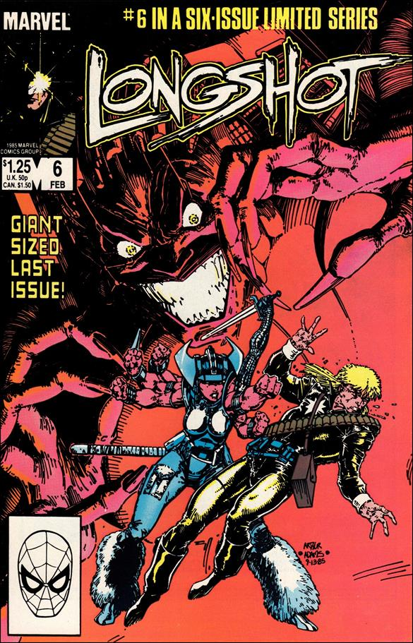 Longshot (1985) 6-A by Marvel