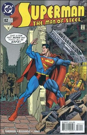 Superman: The Man of Steel 82-A