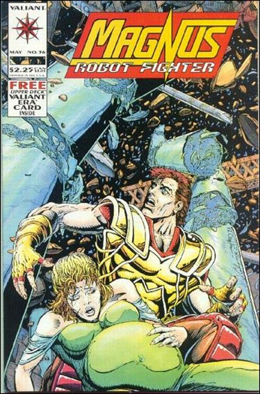 Magnus Robot Fighter (1991) 36-A by Valiant