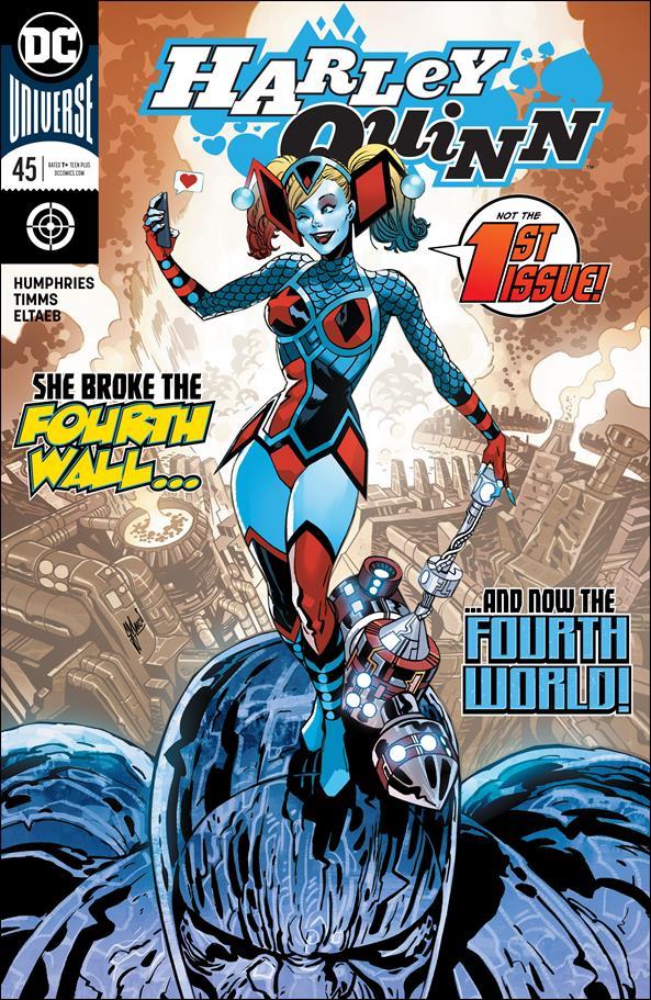 Harley Quinn (2016) 45-A by DC