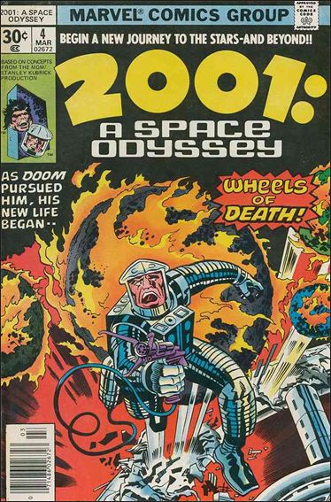 2001: A Space Odyssey 4-A by Marvel