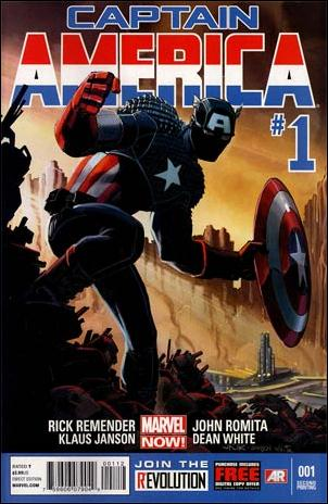 Captain America (2013) 1-K by Marvel