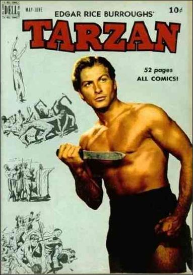 Tarzan (1948) 15-A by Dell