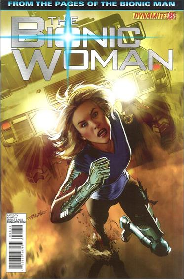 Bionic Woman (2012) 8-A by Dynamite Entertainment