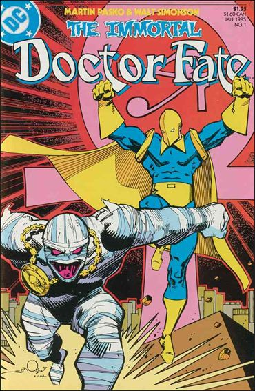 Immortal Doctor Fate 1-A by DC